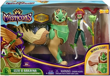 Playmates Mysticons 6.5 inch Figure - Izzie and Arkayna Playmates, Mysticons, Action Figures, 2017