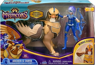 Playmates Mysticons 6.5 inch Figure - Archer and Zarya Playmates, Mysticons, Action Figures, 2017