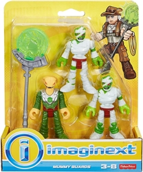 Fisher-Price Imaginext 3 inch Figure - Treasure Hunter Adventure: Mummy Guards Fisher-Price, Imaginext, Action Figures, 2016, adventure