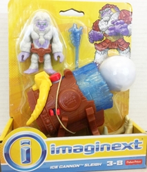 Fisher-Price Imaginext 2.7 inch Figure - Yeti Adventure: Ice Cannon Sleigh Fisher-Price, Imaginext, Action Figures, 2017, adventure