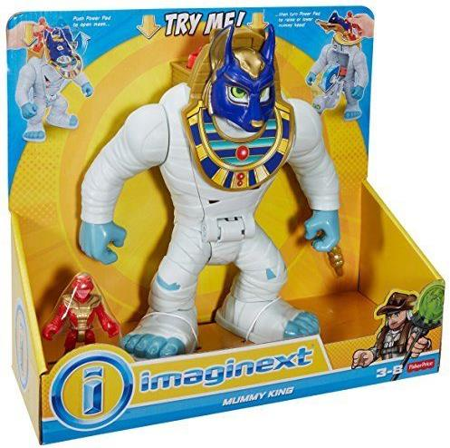 Fisher-Price Imaginext 10 inch Figure - Treasure Hunter Adventure: Mummy King Fisher-Price, Imaginext, Action Figures, 2017, adventure