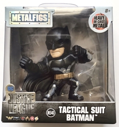 Jada Toys Justice League 2.5 inch Figure - Metalfigs Tactical Suit Batman Jada Toys, Justice League, Action Figures, 2017, superhero, comic book