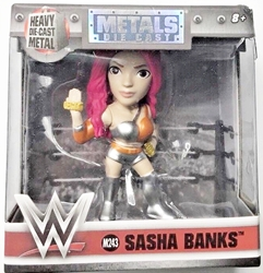 Jada Toys WWE 2.5 inch Figure - Metals Sasha Banks M243 Jada Toys, WWE, Action Figures, 2017, wrestling, tv show