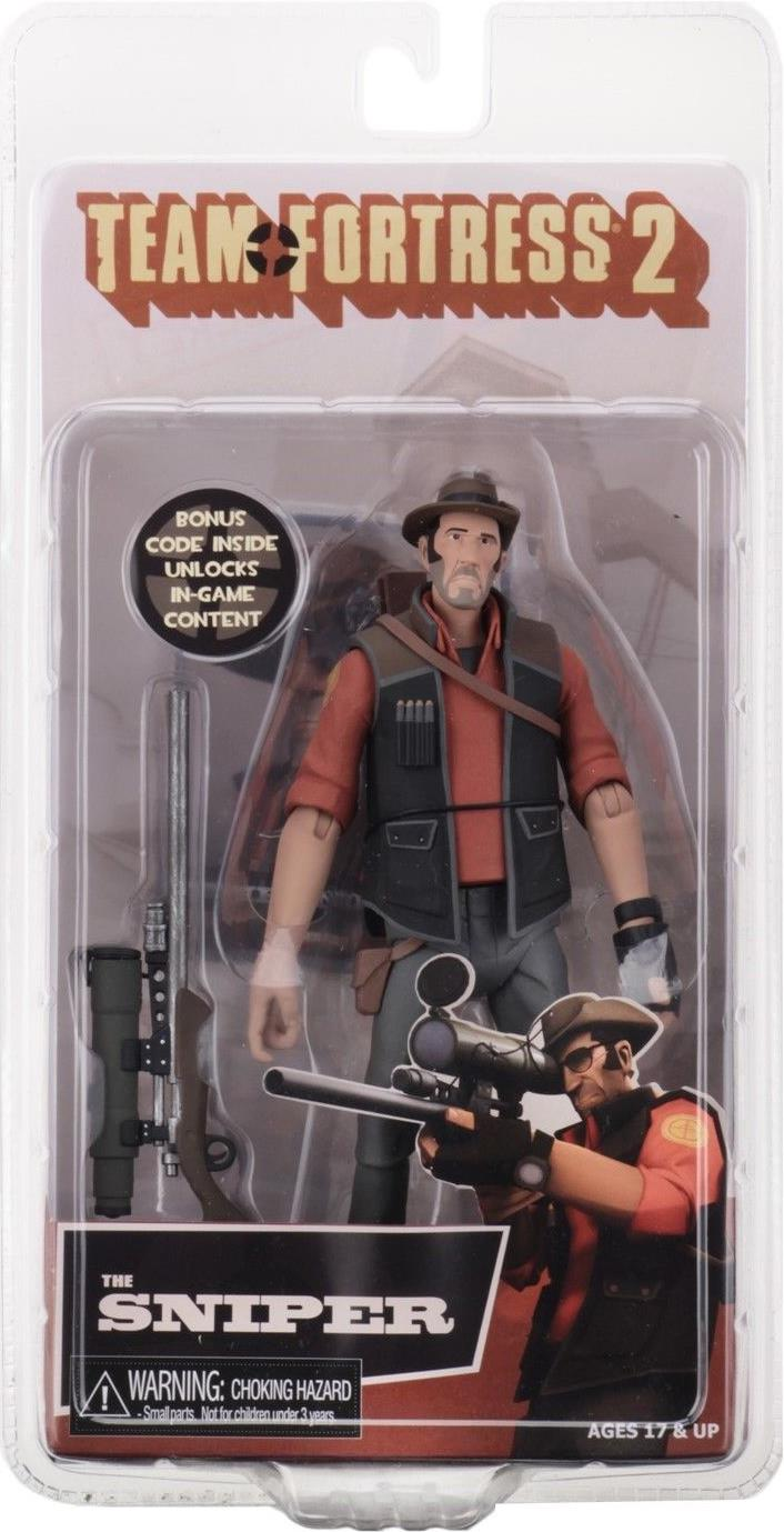 NECA Team Fortress 2 Series 4 RED 7 inch Figure -  The Sniper NECA, Team Fortress 2, Action Figures, 2018