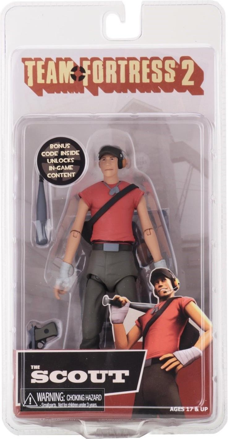 NECA Team Fortress 2 Series 4 RED 7 inch Figure - The Scout NECA, Team Fortress 2, Action Figures, 2018