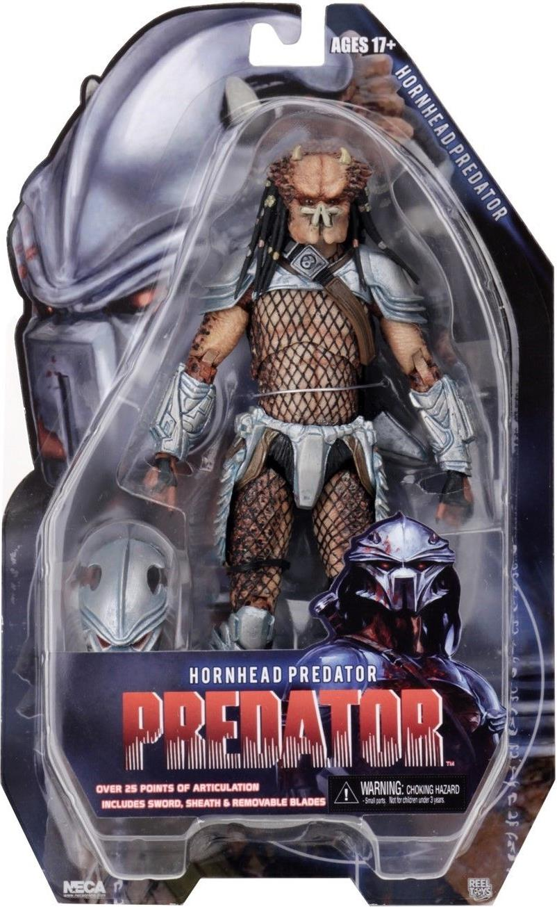 NECA Predator series 18 Figure - 8 inch Hornhead Predator NECA, Predator, Action Figures, 2018, scifi, movie