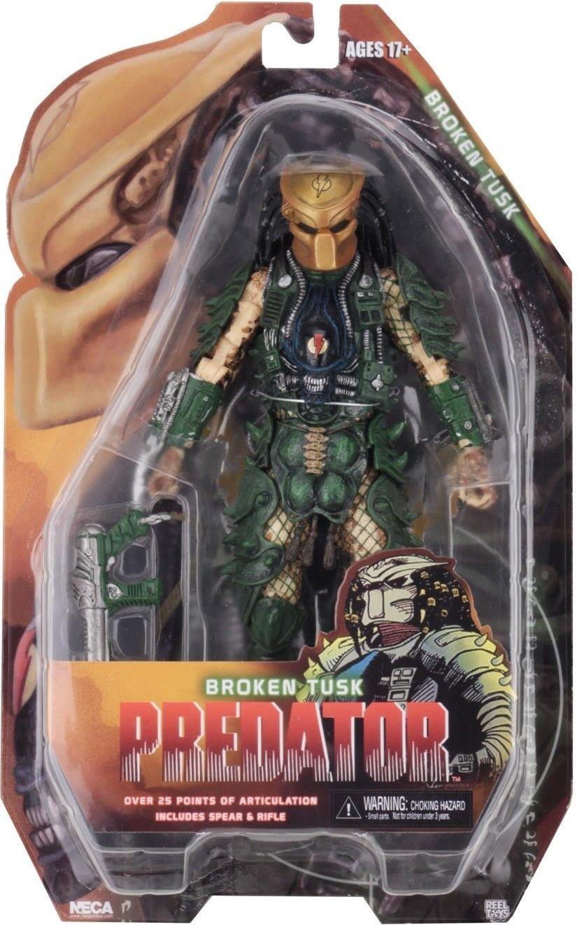 NECA Predator Series 18 Figure - 8 inch Broken Tusk NECA, Predator , Action Figures, 2018, scifi, movie