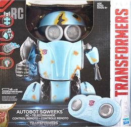 Hasbro Transformers 8 inch Autobot Sqweeks RC (remote controlled) Hasbro, Transformers, Action Figures, 2016, scifi, movie