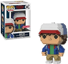 FunKo POP! Stranger Things 4 inch Figure 8-bit Dustin FunKo POP!, Stranger Things, Action Figures, 2018
