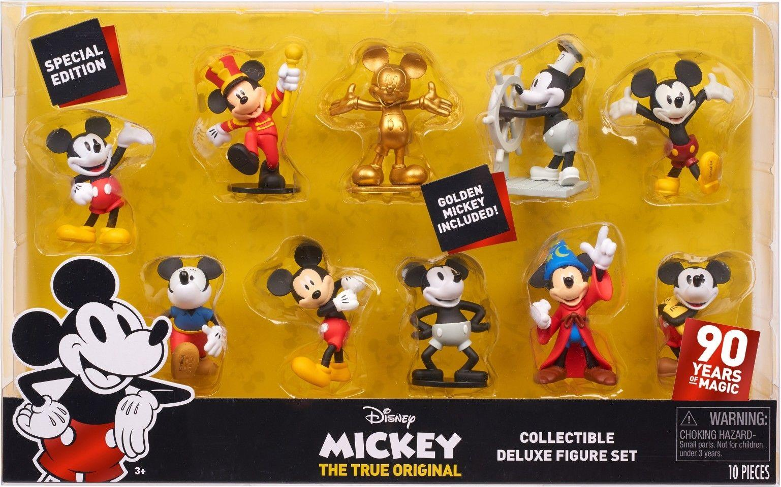 Just Play  Mickey Deluxe Collectible Figure Set Just Play, Disney, Action Figures, 2018, fantasy, movie