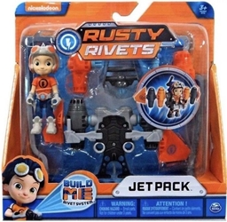 Spin Master Rusty Rivets 3.3 inch Figure - Rusty with Jetpack Spin Master, Rusty Rivets, Action Figures, 2018