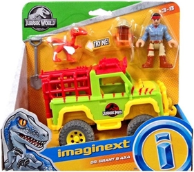 Fisher-Price Imaginext Jurassic World - Dr Grant & 4x4 Fisher-Price, Imaginext, Action Figures, 2018, adventure