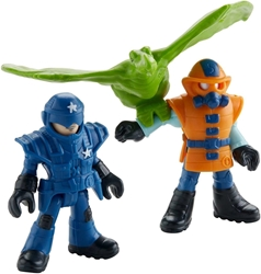Fisher-Price Imaginext Jurassic World - Park Workers & Pterodactyl Fisher-Price, Imaginext, Action Figures, 2018, adventure
