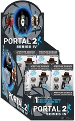 NECA Portal 2 mini Figures -  Series IV counter display 12-pack NECA, Portal 2, Action Figures, 2019, scifi, video game