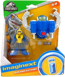 Fisher-Price Imaginext Jurassic World 3 inch Figure - Sub Dino Catcher Fisher-Price Imaginext, Jurassic World, Action Figures, 2018, dinosaurs, movie