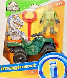 Fisher-Price Imaginext Jurassic World 3 inch Figure - ATV Fisher-Price Imaginext, Jurassic World, Action Figures, 2018, dinosaurs, movie
