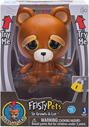 Jazwares Feisty Pets 4 inch Figure - Sir Growls-A-Lot Jazwares, Feisty Pets, Action Figures, 2018