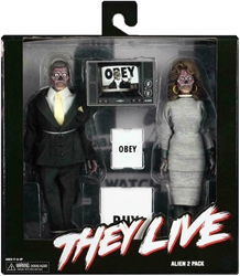 NECA They Live 8 inch Figures - Clothed Aliens 2-pack NECA, They Live, Action Figures, 2019