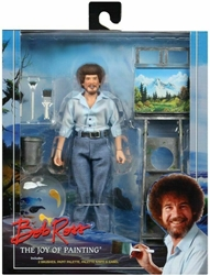 NECA Bob Ross 8 inch Clothed Figure - The Joy of Painting NECA, Bob Ross, Action Figures, 2020