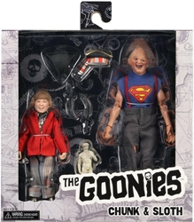 NECA Goonies 8 inch Clothed Figures - Chunk & Sloth NECA, Goonies, Action Figures, 2019