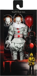 NECA IT 8 inch Clothed Figure - 2017 Pennywise  NECA, IT, Action Figures, 2020
