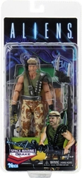 NECA Aliens 7 inch Figure - Space Marine Drake (Kenner Tribute) NECA, Aliens, Action Figures, 2020, scifi, movie