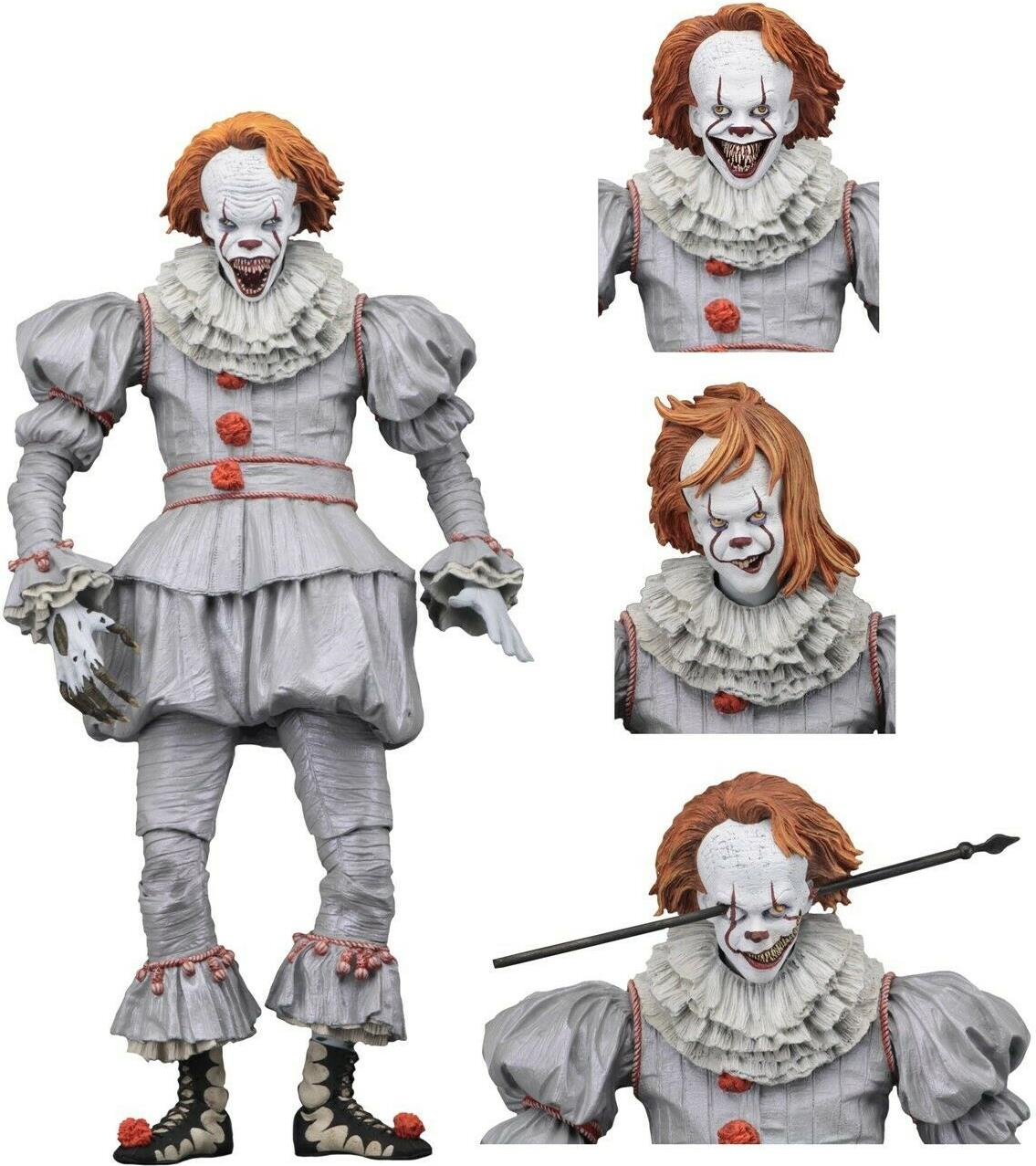 NECA IT 7.5 inch Figure - Ultimate Well House Pennywise NECA, IT, Action Figures, 2019
