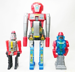 Arco Go-Bots Loose - RoGun Cap Pistol, Cap Rifle & Water Pistol Arco, Go-Bots, Action Figures, 1984, action