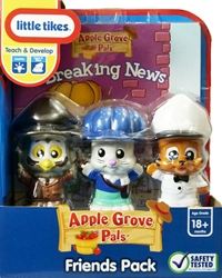 Little Tikes Apple Grove Friends Pack with Breaking News Book Little Tikes, Apple Grove, Preschool, 2009, kidfare, toy