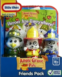 Little Tikes Apple Grove Friends Pack with Heroes are Everywhere Book Little Tikes, Apple Grove, Preschool, 2009, kidfare, toy