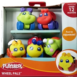 Playskool Wheel Pals 6-pack of wheeled critters [39] Playskool, Wheel Pals, Preschool, 2009