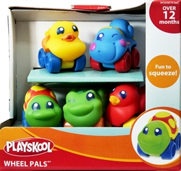 Playskool Wheel Pals 6-pack of wheeled critters [38] Playskool, Wheel Pals, Preschool, 2009