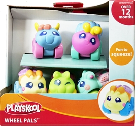 Playskool Wheel Pals 6-pack of wheeled critters [40] Playskool, Wheel Pals, Preschool, 2009