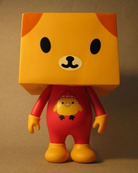 Gum To-Fu Doggy 8 inch vinyl figure China, To-Fu, Action Figures, 2008, vinyl, japan