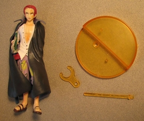 One Piece Bandai Styling Treasure Gate 5 inch Shanks Bandai, One Piece, Anime Figures, 2008, anime, japan