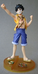 One Piece Bandai Styling Treasure Gate 5 inch Luffy Bandai, One Piece, Anime Figures, 2008, anime, japan