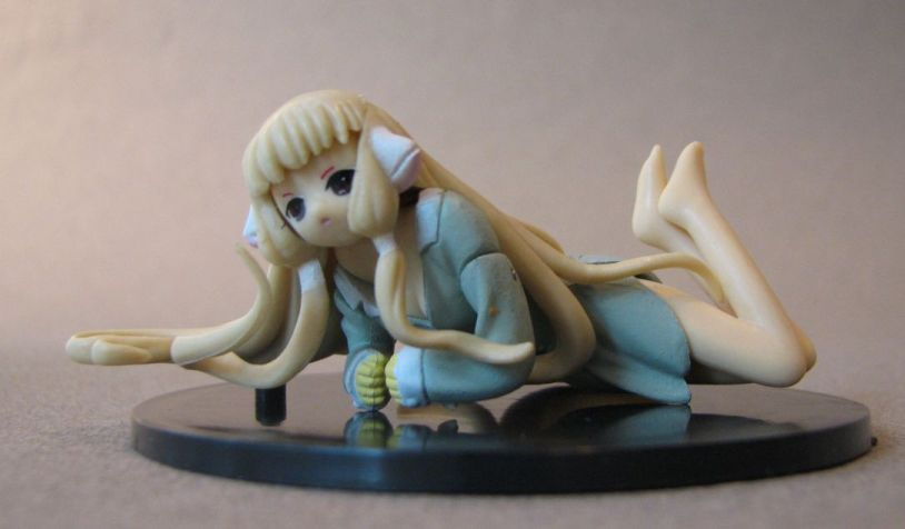 Chobits PVC Figurine - Chi in pijamas China, Chobits, Anime Figures, anime, japan