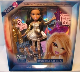 Bratz Designed by Yasmin - with real Perfume bottle MGA, Bratz, Dolls, 2008, fashion, toy