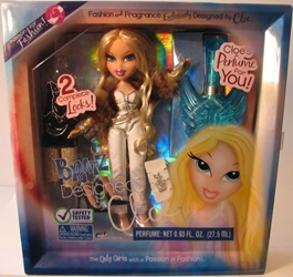 Bratz Designed by Cloe - with real Perfume bottle MGA, Bratz, Dolls, 2008, fashion, toy