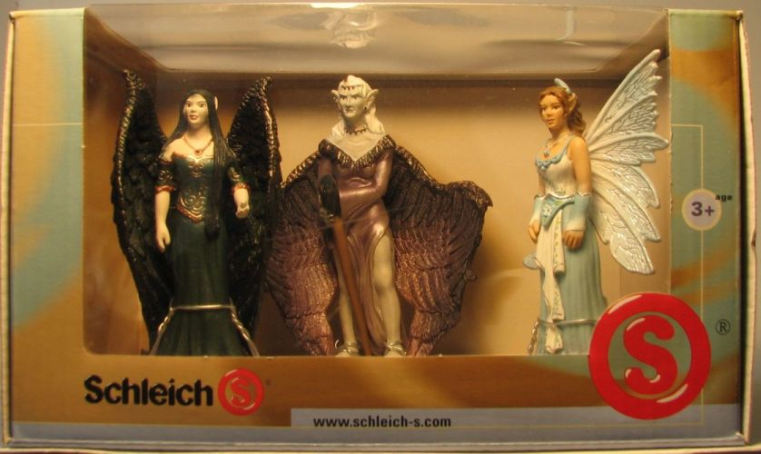 Schleich 40970 World of Elves boxed set (3-pack) Schleich, Elves, Action Figures, 2007, fantasy