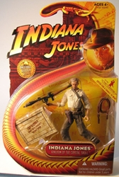 Indiana Jones K of Crystal Skull - Indi+Stinger Weapon Hasbro, Indiana Jones, Action Figures, 2008, adventure, movie