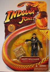 Indiana Jones K of Crystal Skull - Mutt (Leather Jackt) Hasbro, Indiana Jones, Action Figures, 2008, adventure, movie