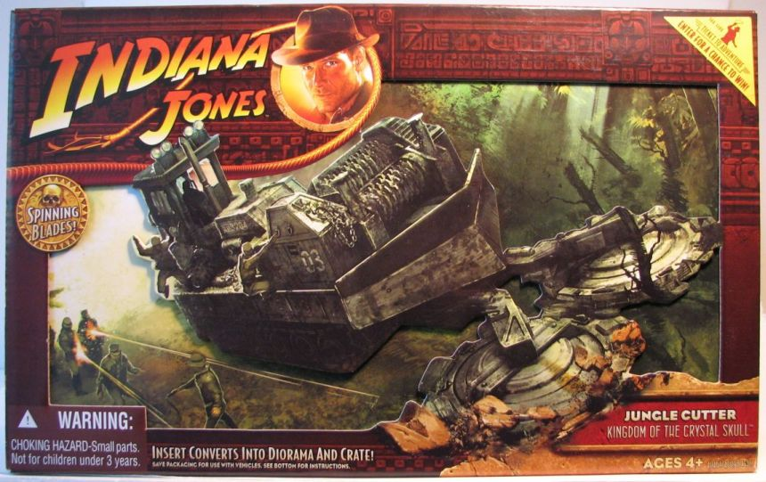 Indiana Jones K of Crystal Skull -Jungle Cutter Vehicle