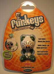Funkeys Sprout (daisy-face & white body) 2.5 inch figure