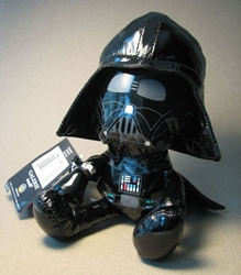 Star Wars 8 inch Darth Vader Soft Toy (2007 tag) Hasbro, Star Wars, Action Figures, 2007, scifi, movie