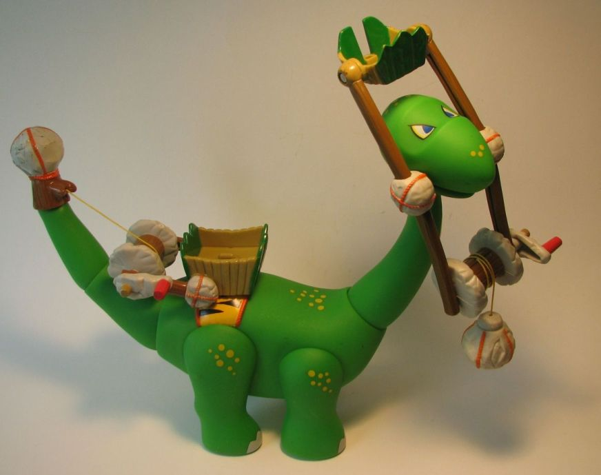 Little Tikes B.C. Builders Apatosaurus dinosaur LOOSE Little Tikes, BC Builders, Preschool, 2005, dinosaurs