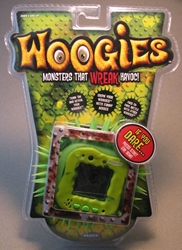 Radica Woogies - Green Radica, Woogies, Action Figures, 2008, cute animals