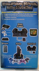 Intec PS2 Wireless AV Selector w DVD Remote & Multitap. Intec, Nintendo, Video Game Electornics, 2003