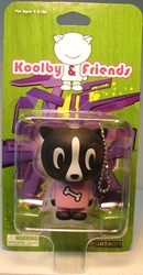 Koolby and Friends - Series 1 - (Doggy w Bone T) Bigatron, Koolby and Friends, Action Figures, 2008, animated, art
