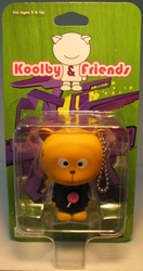 Koolby and Friends - Series 1 - (Yellow Cat LolypopT) Bigatron, Koolby and Friends, Action Figures, 2008, animated, art